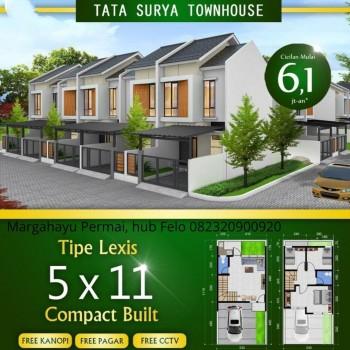 Rumah Baru Mewah Strategis Di Margahayu Permai Dekat Pusat Kota Bandung Timur #1