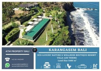 Eco-luxury Nature & Wellness Boutique Resort - Villa Los Tebing Karangasem Bali #1