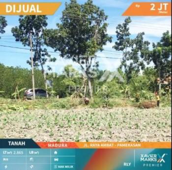 Tanah Dijual Jl. Raya Ambat, Tlanakan, Pamekasan, Madura #1