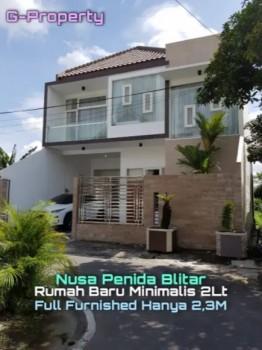 Dijual Rumah Baru Minimalis 2 Lantai Full Furnished Di Kota Blitar #1