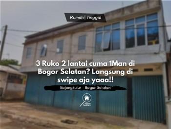 For Sale Ruko Di Bogor Selatan 3 Jadi 1 Cuma 1m An Ajaa! #1
