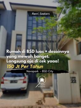For Rent Rumah Di Cluster Elite Bsd, Bikin Nyaman Bgtttt! #1