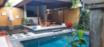 Disewakan Rumah Dengan Private Pool Di Danau Poso Denpasar #1