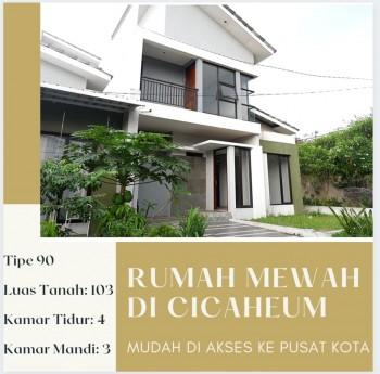 Rumah Sehat Di Pusat Kota Bandung Dekat Dago, Itb Dan Gasibu Di Kelilingi Taman Kota Dan Bangunan Baru Di Cicaheum #1