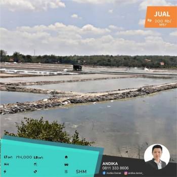 Tambak Garam Super Luas Dan Strategis Di Sampang Madura #1