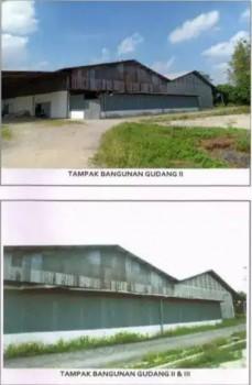 Gudang Ploso Jombang, Hitung Tanah #1
