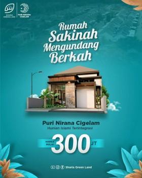 Rumah Murah Purwakarta Harga Diskon Perumahan Islami Purwakarta #1