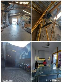"Dijual Gudang + Crane ""20 Ton "" Raya Bangkingan - Driyorejo - Gresik Dekat Citraland Surabaya #1"