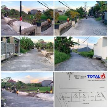 Dijual Tanah Kavling Murah Meriah View Sawah Di Peguyangan Kangin, Denpasar Utara #1