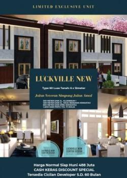 Perumahan Luckville New 2 Lantai Termurah #1