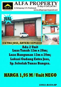 Gudang Lok Extra Joss, Arteri Supadio, Pontianak, Kalimantan Barat #1