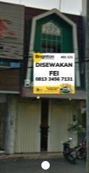 Ruko Disewa Jl Kawi Atas Malang #1