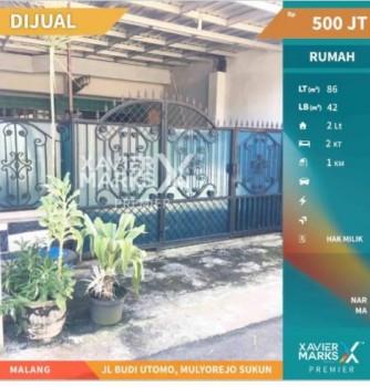 Dijual Rumah Jalan Budi Utomo Mulyorejo Sukun #1