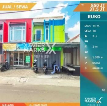 Ruko, Di Jl. Ikan Paus Malang #1