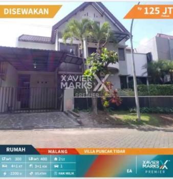 Di Sewakan Rumah Megah 2 Lantai Di Villa Puncak Tidar Malang #1