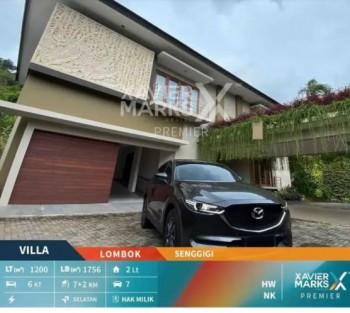 Villa Mewah Baru Dijual Di Senggigi Lombok #1