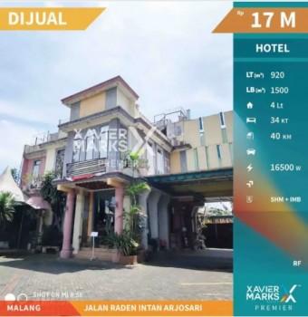 Dijual Cepat Hotel Jalan Raden Intan Arjosari, Blimbing - Malang #1