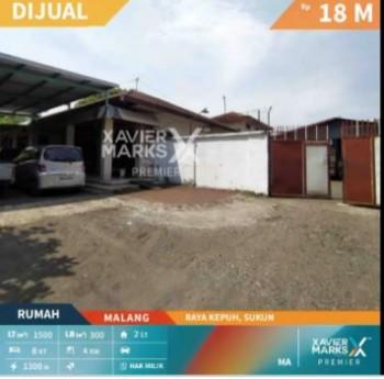 Dijual Rumah Untuk Komersial Daerah Raya Kepuh Sukun #1
