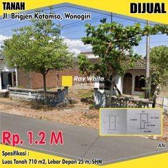 Tanah Di Jl.brigjend Katamso Wonogiri #1