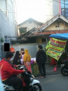 Dijual Rumah Hitung Tanah Pinggir Jalan Raya Kramat Sentiong Ujung Senen #undefined