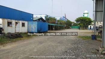 Disewakan Tanah Gudang Dan Gedung Kantor Di Cakung Cilincing 1 Ha Jaktim Siap Pakai #1