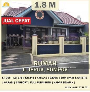 Dijual Rumah Semarang Selatan Area Sompok - Jl Jeruk, Semarang #1
