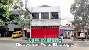Disewakan Ruko Strategis 2 Lantai Di Jl. Kawi Malang #1