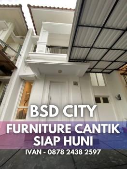 Disewakan Rumah Di Bsd City Tangerang Cluster Ruby Full Furnished #1