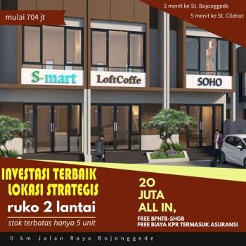 Ruko 2 Lantai, Lokasi Strategis Investasi Terbaik #1