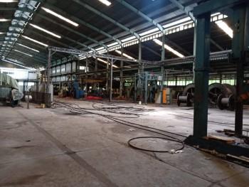 Bangunan & Tanah Eks Pabrik Pt. Tranka Kabel Bogor #1