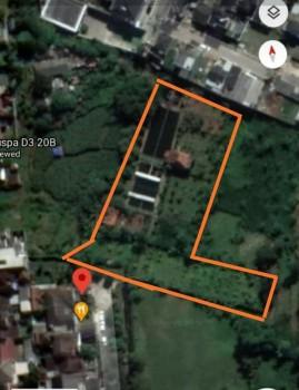 Tanah, Kolam Ikan, Villa Sayap Graha Puspa Lembang Bandung #1