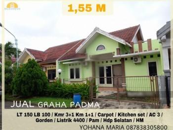 Rumah Dijual Di Graha Padma Semarang Anyelir, Tugu, Semarang, Jawa Tengah #1