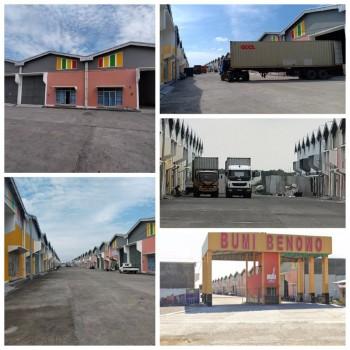 Gudang Bumibenowo Surabaya Dekat Teluk Lamong Jllb Tol Industri Gresik #1