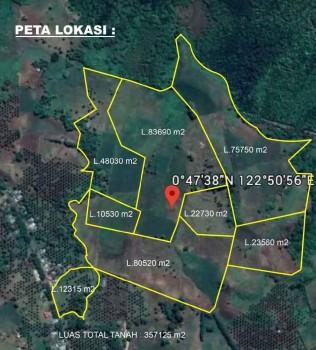 Dijual Tanah Di Molingkapoto - Gorontalo #1