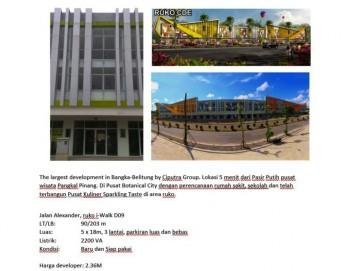 Ruko Murah Citraland Pangkal Pinang, Bangka Belitung #1