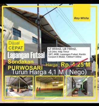 Gedung Lapangan Futsal Sondakan #1