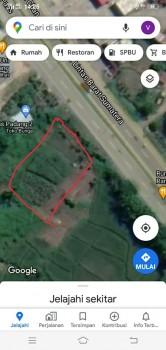 Tanah 3696m2 Bypass Kota Padang Lokasi Sangat Strategis 15 Menit Ke Bandara Internasional Minangkabau #1