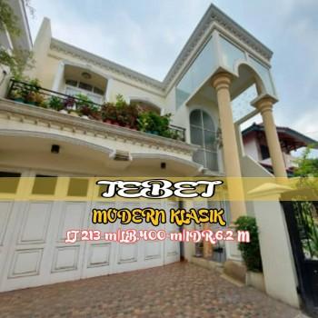Rumah Mewah Modern Classic Siap Huni Di Tebet Jakarta Selatan #1