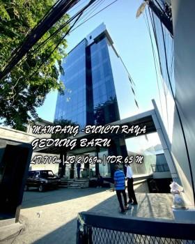 Dijual Gedung Baru 6 Lantai+rooftop Di Buncit Raya Mampang Jakarta Selatan #1