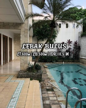 Rumah Mewah Murah Harga Dibawah Pasaran Di Lebak Bulus Jakarta Selatan #1