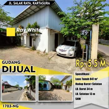 Gudang Jl. Salak Raya Kartasura #1