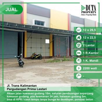 Jual Gudang Trans Kalimantan Kubu Raya #1