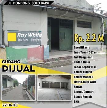 Gudang Bonus Rumah Solo Baru #1