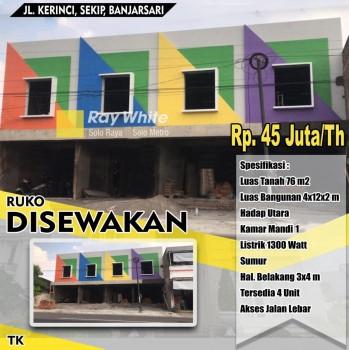 Sewa Ruko Sekip Banjarsari #1