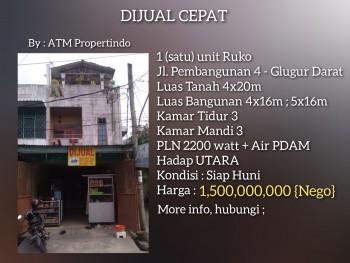 Ruko Siap Huni Di Medan Timur #1
