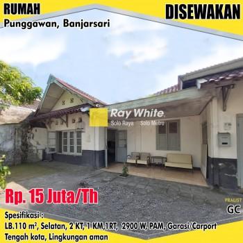 Sewa Rumah Punggawan Banjarsari #1