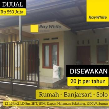 Sewa Rumah Banjarsari #1