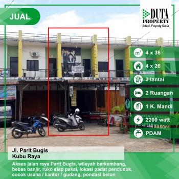 Ruko Parit Bugis, Pontianak, Kalimantan Barat #1