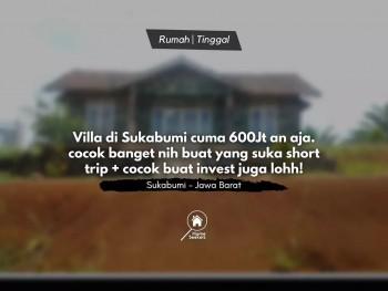 For Sale Villa Di Cikidang Hunting Resort - Sukabumi. Cocok Nih Buat Yg Suka Shorttrip An #1