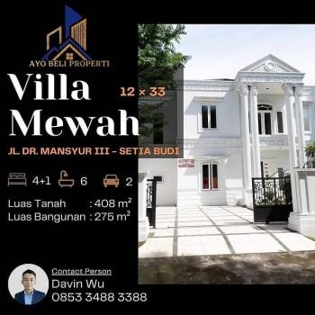 Rumah Mewah Medan Kota Setiabudi Dr. Mansyur (0853-3488-3388) #1